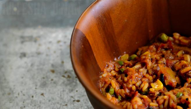 Sweet Earth Spanish Paella Artisan Bowl