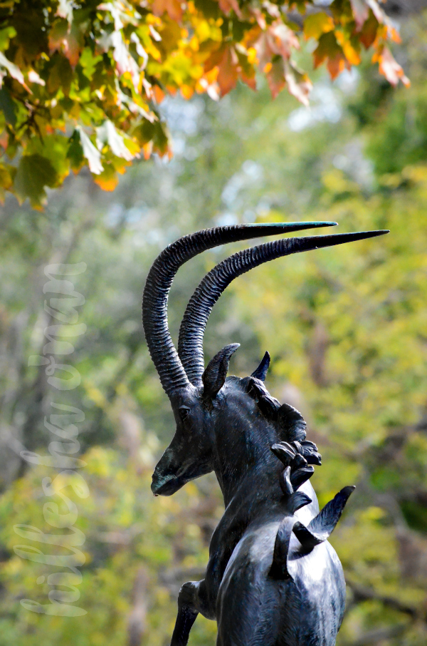 goat-statue