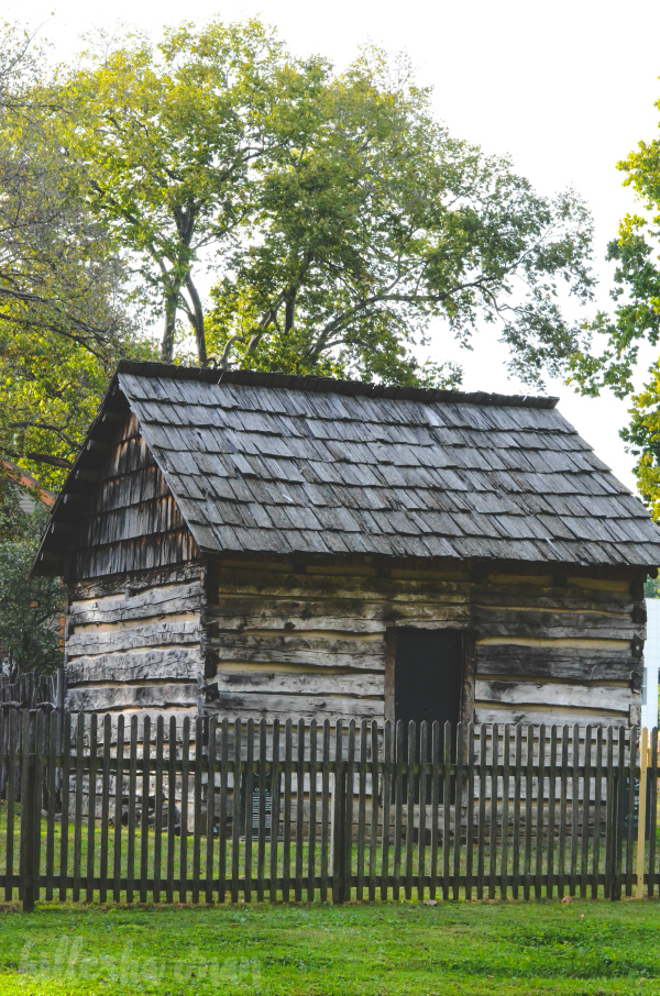 Reconstructed Harmonist Cabin