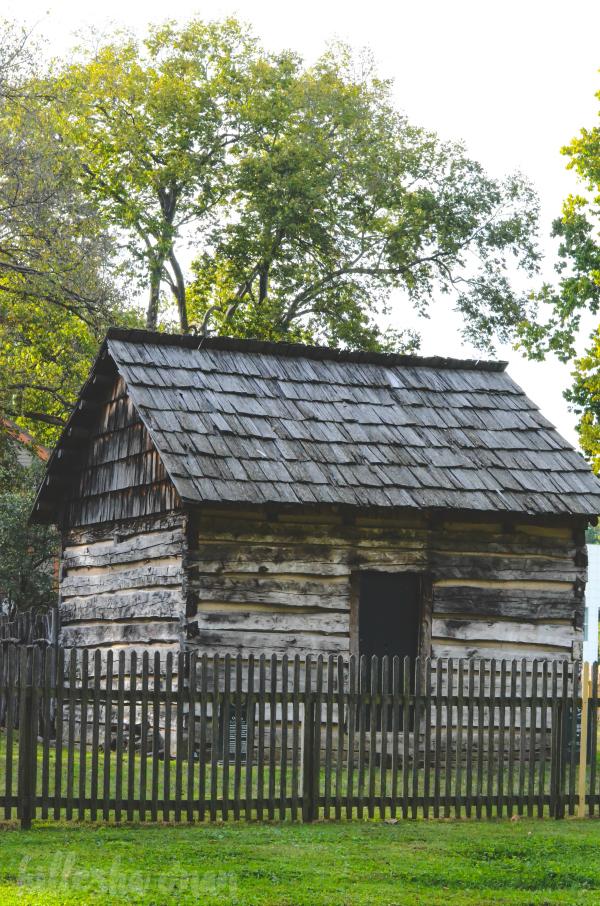 Reconstructed Harmonist Cabin