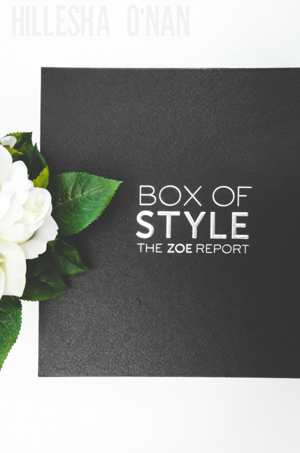 The Zoe Report Box Of Style For Fall 2016 Reveal Review
