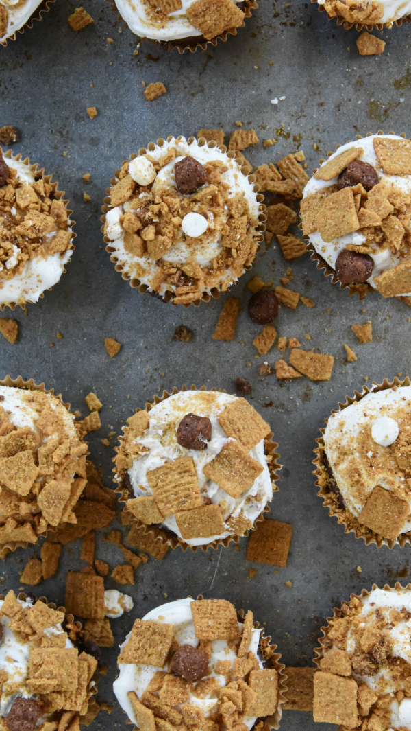 Honey Maid S'Mores Cupcakes
