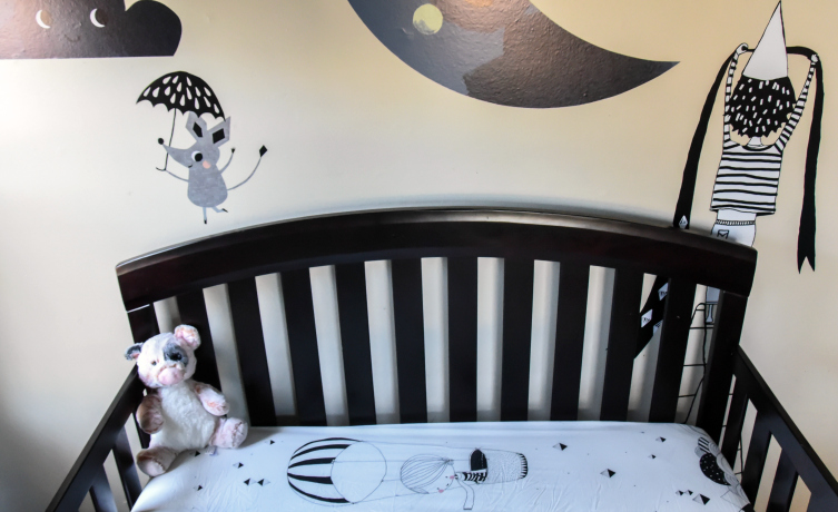 Rookie Humans Moon's Birthday Wall Decals