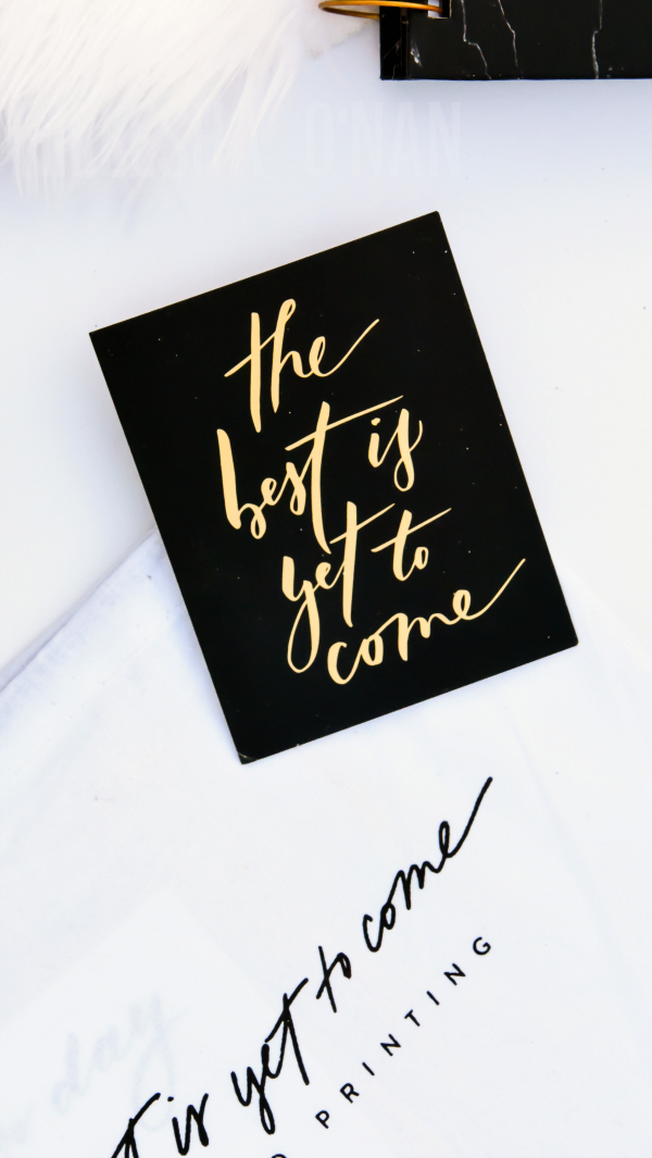 The Best is Yet to Come with Horacio Printing