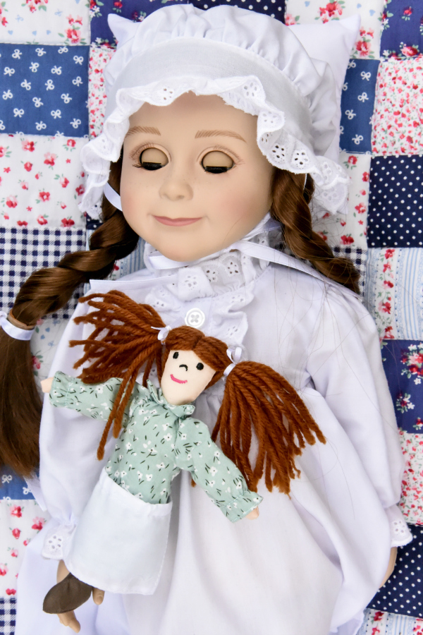 The Queen's Treasures Little House on the Prairie Doll 3