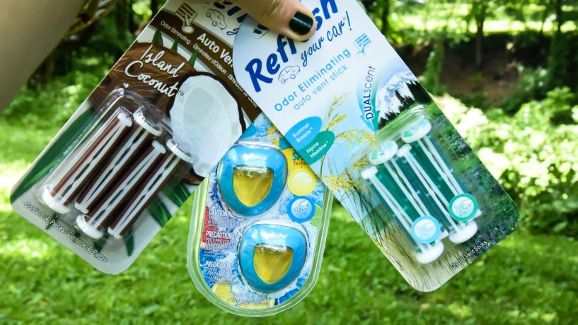 Refresh Your Car Odor Eliminating Auto Vent Stick