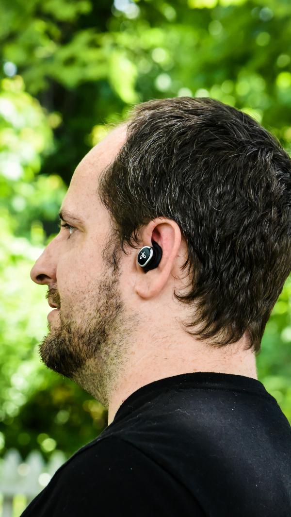 Cordless Jaybird Run True Wireless Headphones
