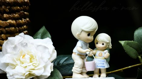 Precious Moments Daddy's Little Sunshine Figurine