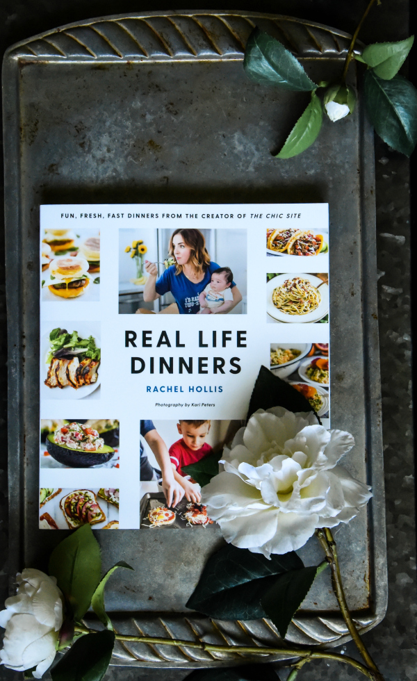 Real Life Dinners by Rachel Hollis Cookbook