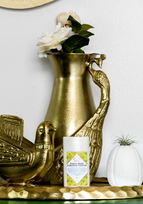 Nubian Heritage 24-Hour Aluminum-Free Deodorant in Indian Hemp and Haitian Vetiver Review