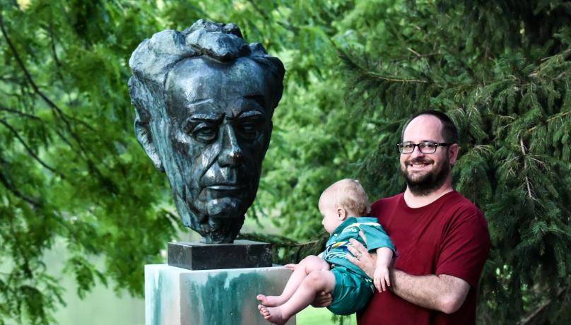 Paul Tillich in Tillich Park
