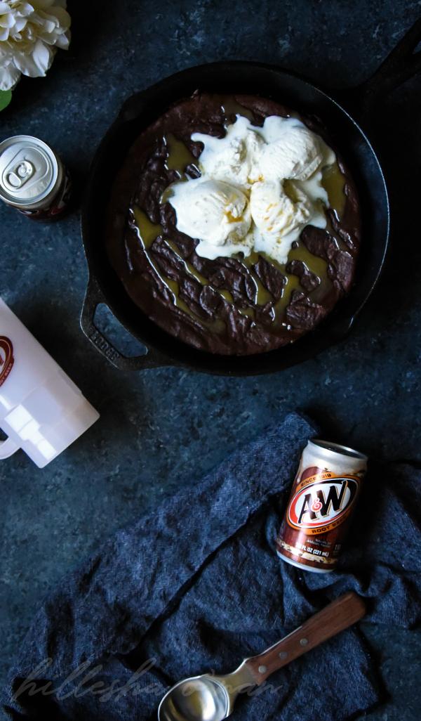 Brownie Sundae Root Beer Float Recipe