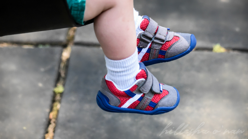 Pediped Grip 'n' Go Gehrig Union Jack Shoes Review