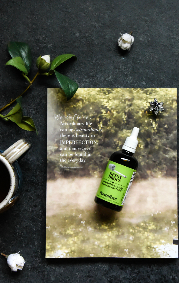 Teasane Herbal Extracts Detox Drops Review