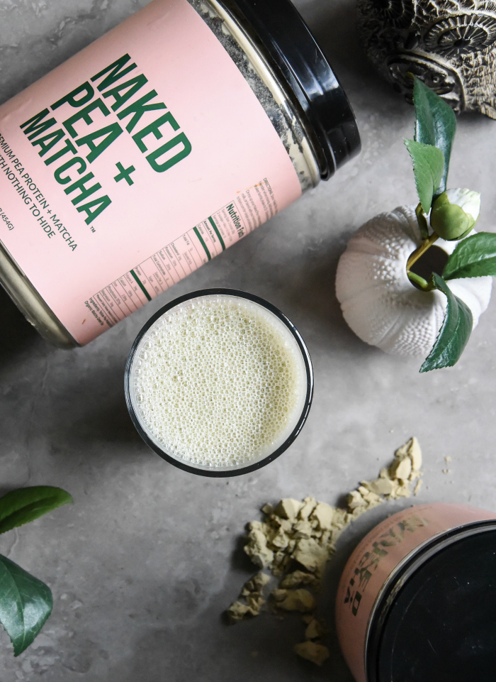 Naked Nutrition  Matcha Pea Protein Powder Review