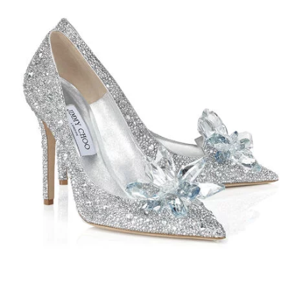 Cinderella Party Look for New Year's Eve