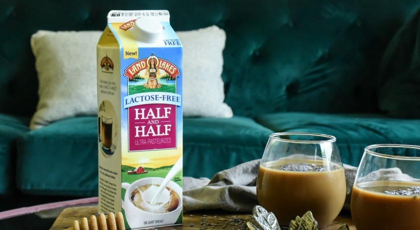 Recipe forCold Brew Coffee with Lavender Creamer