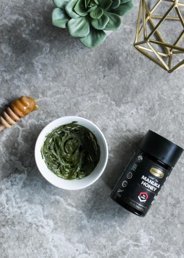 DIY Green Tea Manuka Honey Face Mask