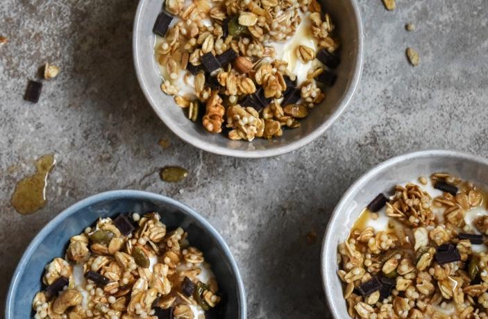 Mini Yogurt Breakfast Bowl