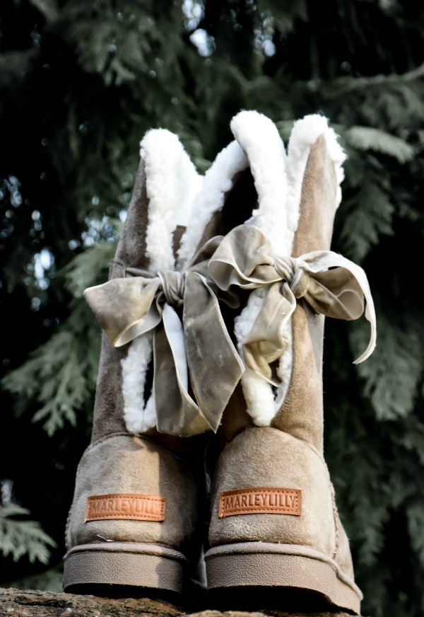 Marleylilly Sherpa Tie Booties Review