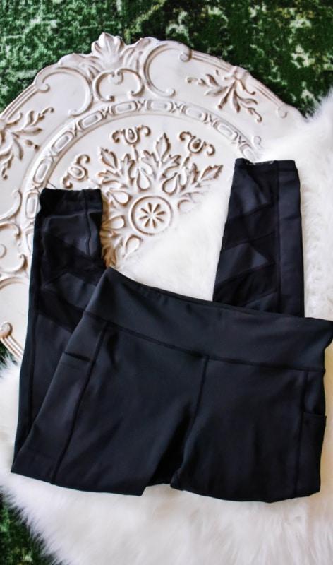 Belcorva Black Mesh Pocket Pants Review