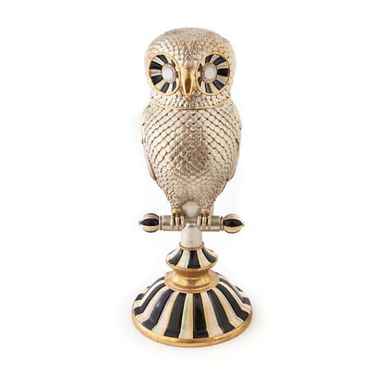MacKenzie-Childs Golden Hour Owl